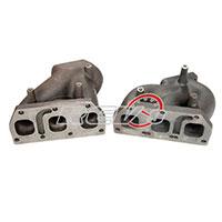 REV9POWER VW Golf Vag V6 / R32 T25 Flange Twin Turbo Cast Manifold