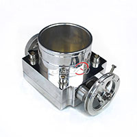 REV9POWER 90mm Throttle Body W/ Adaptor Plate