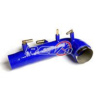 REV9POWER Subaru wrx 02-07 / Sti 04-13 EJ20 EJ25 turbo inlet silicone (Blue)