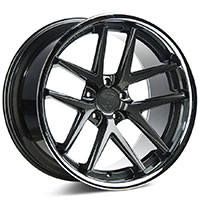 ROHANA RC9 Wheel Rim 19x11 5x114 ET28 Gloss Graphite/Stainless Lip