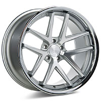ROHANA RC9 Wheel Rim 19x11 5x114 ET28 Machine Silver/Stainless Lip