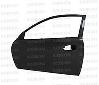 SEIBON CARBON FIBER DOORS (pair) ACURA RSX 2002-2007