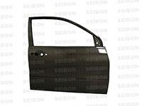 SEIBON CARBON FIBER FRONT DOORS (pair) MITSUBISHI LANCER EVO VIII / IX 2003-2007