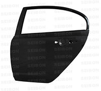 SEIBON CARBON FIBER REAR DOORS (pair) HONDA CIVIC 4DR 2006-2010