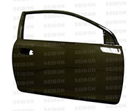 SEIBON CARBON FIBER DOORS (pair) HONDA CIVIC 2DR/HB 1992-1995