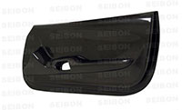 SEIBON CARBON FIBER DOOR PANELS (pair) TOYOTA SUPRA 1993-1998