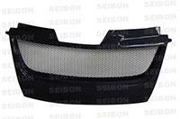SEIBON CARBON FIBER GRILLE (Shaved) TD VOLKSWAGEN GOLF GTI 2006-2009