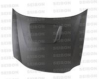 SEIBON CARBON FIBER DRY CARBON HOOD OEM SUBARU IMPREZA / WRX / STI (GDA/GGA)* 2002-2003