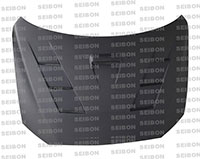 SEIBON CARBON FIBER DRY CARBON HOOD TS MITSUBISHI LANCER EVO X 2008-2012