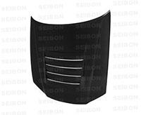 SEIBON CARBON FIBER HOOD DS NISSAN SKYLINE R34 GT-R (BNR34)* 1999-2001