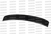 SEIBON CARBON FIBER REAR ROOF SPOILER OEM NISSAN GTR R35 2009-2011