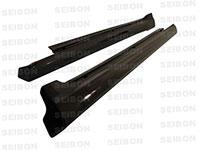 SEIBON CARBON FIBER SIDE SKIRTS (pair) TS LEXUS IS250/350 4DR 2006-2010