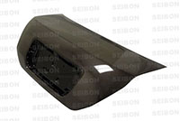 SEIBON CARBON FIBER TRUNK/HATCH OEM HONDA CIVIC 2DR 2006-2010