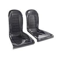 SEIBON CARBON FIBER BACK SEATS (pair) OEM NISSAN GTR R35 2009-2010