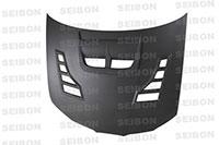 SEIBON CARBON FIBER DRY CARBON HOOD CW SUBARU IMPREZA / WRX / STI (GDA/B/F OR GGA/E)* 2006-2007