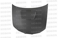 SEIBON CARBON FIBER DRY CARBON HOOD OEM SUBARU IMPREZA / WRX / STI (GDA/B/F OR GGA/E)* 2006-2007