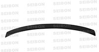 SEIBON CARBON FIBER REAR ROOF SPOILER OEM BMW 3 SERIES 2DR 2007-2013