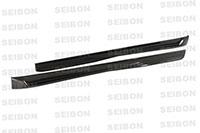 SEIBON CARBON FIBER SIDE SKIRTS (pair) TT VOLKSWAGEN GOLF GTI 2006-2009