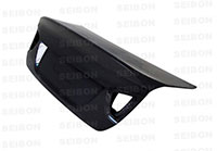 SEIBON CARBON FIBER TRUNK/HATCH CSL BMW 3 SERIES 4DR (E90) Manuf. Date 10/04 to 7/08 models only Exc M3 2005-2008