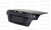 SEIBON CARBON FIBER TRUNK/HATCH OEM BMW 1 SERIES 2DR (E82) Incl. M1 2008-2012