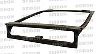SEIBON CARBON FIBER TRUNK/HATCH OEM HONDA CRX 1988-1991