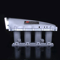 SKUNK2 RACING Intake Manifold HONDA / ACURA ULTRA SERIES, K SERIES - 3.5 LITER w/ SILVER BASE FITS PRB STYLE HEADS