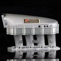 SKUNK2 RACING Intake Manifold HONDA / ACURA ULTRA SERIES 2 LITER SPACER - SILVER GASKET & HARDWARE INCL.