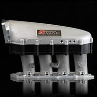 SKUNK2 RACING Intake Manifold HONDA / ACURA ULTRA SERIES 2 LITER SPACER - BLACK GASKET & HARDWARE INCL.