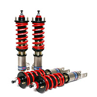 SKUNK2 RACING Pro C Full Threaded Body Coilovers - Dampening Adjustable ACURA 1994-01 ACURA INTEGRA (NON TYPE R) 10K/ 8K Spring Rates