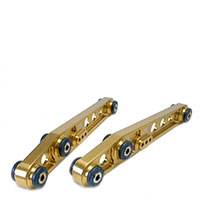 SKUNK2 RACING Rear Lower Control Arms ACURA 1990-01 INTEGRA GOLD ANODIZED