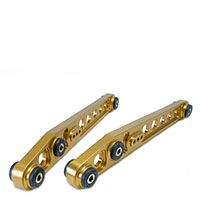 SKUNK2 RACING Rear Lower Control Arms HONDA 1996-00 CIVIC GOLD ANODIZED