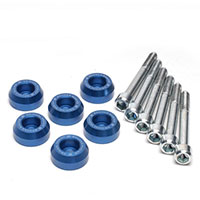 SKUNK2 RACING Rear Lower Control Arm Bolt Kit HONDA / ACURA LOWER CONTROL ARM BOLT KIT, BLUE ANODIZED 88-00 CIVIC, 90-01 INTEGRA
