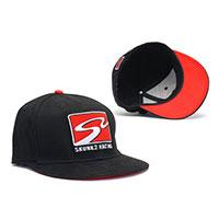 SKUNK2 RACING BASEBALL CAP, RACETRACK LOGO (BLACK) - LARGE / X-LARGE BLACK