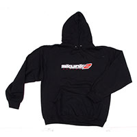 SKUNK2 RACING HOODED EMBROIDERED-LOGO SWEATSHIRT - XL BLACK