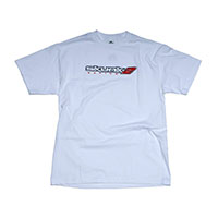 """SKUNK2 RACING """"GO FASTER"""" TEE (WHITE) - L WHITE"""