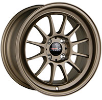 TRAKLITE CHICANE 15X8.25 4X100/114.3 ET20 COPPER BRONZE