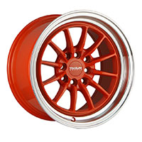 TRAKLITE CHICANE 15X8.25 4X100/114.3 ET20 HYPER ORANGE