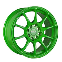 TRAKLITE DRIVE 15X7 4X100/114.3 ET35 ELECTRIC GREEN