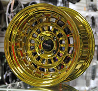 TRAKLITE DRUM 15X8 4X100 ET0 ORO / GOLD