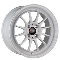 TRAKLITE GEAR 15X7 4X100 ET35 GLOSS WHITE