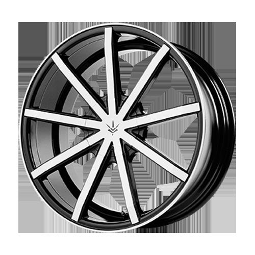 Verde Contra Wheel Rim 20x10 6x115 ET42 74 1 Gloss Black/ Machined