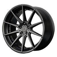Verde Insignia Wheel Rim 20x10 5x112 ET25 66.6 Satin Black