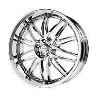 Verde Kaos Wheel Rim 18x8 5x108 ET38 74.1 Chrome