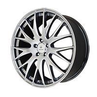 Verde Saga Wheel Rim 17x7.5 5x100 ET40 67.1 Hyper Silver Dark