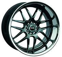 XXR 526 Wheel Rim 17x10 5x100/5x114.3 ET20 73.1mm Chromium Black / SSC