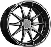 XXR 527D Wheel Rim 18x10.5 5x114.3 ET20 73.1mm Chromium Black