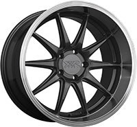 XXR 527D Wheel Rim 18x10.5 5x114.3 ET20 73.1mm Graphite / ML