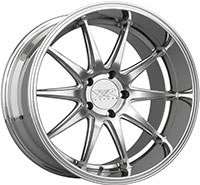 XXR 527D Wheel Rim 18x10.5 5x114.3 ET20 73.1mm Machined / Platinum