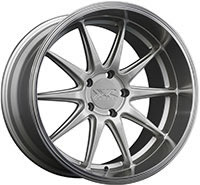 XXR 527D Wheel Rim 18x10.5 5x114.3 ET20 73.1mm Silver / ML