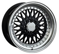 XXR 536 Wheel Rim 16x8 4x100/4x114.3 ET0 73.1mm Black / ML